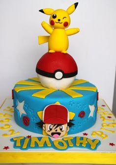Celebrate with Cake!: Pokemon Pikachu Cake
