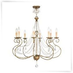 Livex Isabella 51908 8 Light Chandelier
