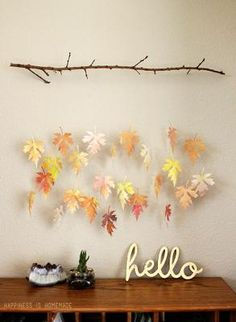 Decor autumn