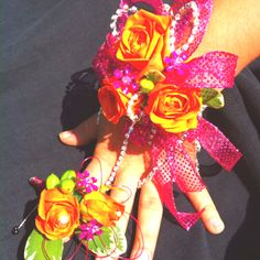 Prom Flowers- love the little ones for rings!