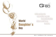 World Daughter's Day Beautiful Gifts, Most Beautiful, Giving Day, Social Campaign, Daughters Day, Shiva, Wall Tiles, Wish, World