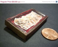Black Friday Etsy Miniature Ancient Egyptian Papyrus by LDelaney