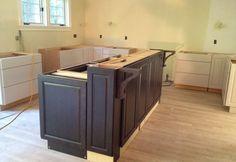 Raising the Bar   Base cabinets, Plywood and Bar