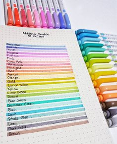 These bullet journal ideas are THE BEST! I'm so happy I found these GREAT bullet… These bullet journal ideas are THE BEST! I'm so happy I found these GREAT bullet journal tips! Now I have some great bullet journal hacks that I can use! Bullet Journal Markers, Bullet Journal Hacks, Bullet Journal Writing, Bullet Journal Ideas Pages, Bullet Journal Inspiration, Bullet Journals, Cool School Supplies, Erin Condren, Planner Stickers