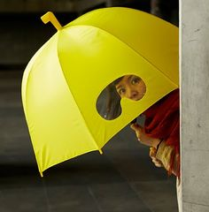 """... I would TOTALLY utilize the """"goggles"""" to this umbrella! bwahaha!"""