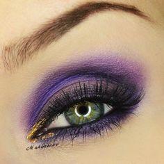 Makeup Geek Eyeshadow – Gold Digger, Purple Rain & Unicorn