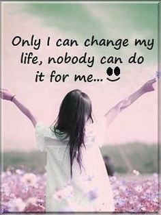 I wish some people could understand this. I'm not going to change because they want me to.