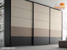 Master Bedroom Wardrobe Designs, Sliding Door Wardrobe Designs, Sliding Door Design, Bedroom Cupboard Designs, Kids Bedroom Designs, Bedroom Bed Design, Wardrobe Doors, Modern Kitchen Design, Interior Design Kitchen