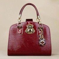 Designer Red Women Handbag With Handle