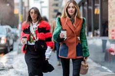 Colourful fur at New York Fashion Week