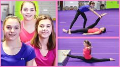 How To Do The Splits! Stretch Routine with TheCheernastics2