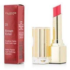 Rouge Eclat Satin Finish Age Defying Lipstick - # 23 Hot Rose 3g/0.1oz