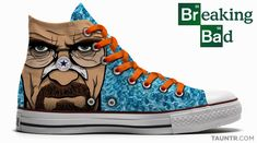 awesome mens shoes and boots | The Walking Dead, Breaking Bad et Dexter Converse shoes!