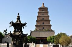 Giant Wild Goose Pagoda or Big Wild Goose Pagoda, is a Buddhist pagoda located in southern Xi'an, Shaanxi province, China. It was built in 652 during the Tang Dynasty.