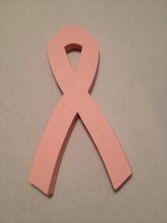 24 Pink Die Cut Ribbons by MonAmiePaperie on Etsy, $4.44