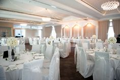 Starlight Grand Ballroom #weddings #adelaide Grand Staircase, Bridal Suite, Modern Chandelier, Weddings, Table Decorations, Furniture, Home Decor, Decoration Home, Room Decor