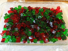 boozy jello // forget the cups...cube the firmed up jello and set out some toothpicks!!