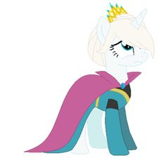 Elsa in her coronation thing by CookieCreepah on DeviantArt My Little Pony Comic, My Little Pony Drawing, My Little Pony Pictures, Little Disney Princess, Freezing Anime, Mlp Twilight Sparkle, Frozen Fan Art, Celestia And Luna, My Little Pony Wallpaper