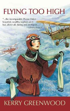 Walking the wings of a Tiger Moth plane in full flight would be more than enough excitement for most people, but not for Phryne-amateur detective and woman of mystery, as delectable as the finest choc