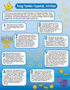 8 Ideas for 8 Nights of Family Celebration! love, ShirLaLa and Blog Sameach  www.ShirLaLa.com
