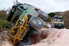 Toyota Land Cruiser Series 70 ( Machito) and Fj Cruiser. Gran Sabana - Venezuela.