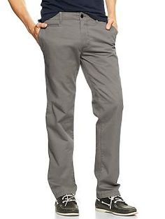 Lived-in straight khaki  38 inch waist and 32 length