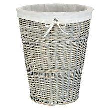 Buy John Lewis Willow Laundry Basket Online at johnlewis.com £45