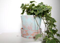 BLOG CHALLENGE | Giv din terrakotta potte patina med kalkmaling - F L A I R