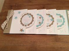 Circle Card Mini Album zur Geburt ~ STEMPEL...und deine Ideen werden wahr...