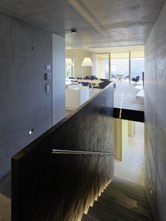 2017 02 07 dom sch na kosogore designzoom. Terrazzo, Interior Garden, Interior Design, Painting Concrete, Ping Pong Table, Dom, Interior Inspiration, Beach House, Home And Family