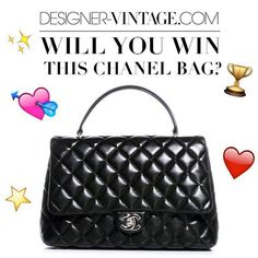 On April the 23rd we'll host the 3rd edition of our #DesignerVintageSale in the Amstel hotel in Amsterdam. During this fabulous event you can shop the most gorgeous designer pieces and get a chance a win this gorgeous #ChanelBag! Head over to our event page and let us know if you'll be there! #WinAChanelBag