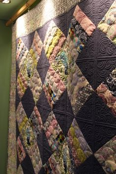 Inspiring quilting (sorry, no link, just a picture)