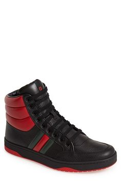 Gucci 'Ronnie' High-Top Sneaker (Men) available at #Nordstrom