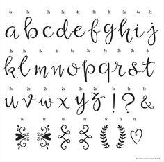 A Little Lovely Company Lightbox Letter Set – Script. £7.50