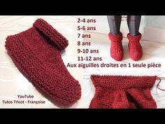 Slipper Boots, Fingerless Gloves, Arm Warmers, Sandro, Slippers, Couture, Crochet, Knitting, Garnet