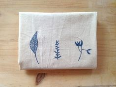 Hand Painted Market Tote with Botanical by mipluseddesign on Etsy, €15.00