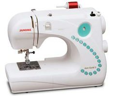 Jem Gold 3. I want this sewing machine but I'm guessing its not in the beginner's budget.