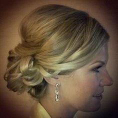 Wedding updo... thinking about what my hair should look like as a bridesmaid