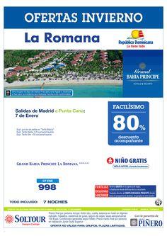 La Romana (Rep. Dominicana) 80% Grand Bahía Príncipe La Romana (vuelo Madrid-Punta Cana) salida 7 Enero desde Madrid ultimo minuto - http://zocotours.com/la-romana-rep-dominicana-80-grand-bahia-principe-la-romana-vuelo-madrid-punta-cana-salida-7-enero-desde-madrid-ultimo-minuto/