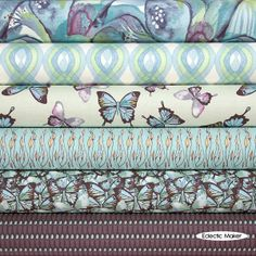 Shell+Rummel+Fabric+Pack+Mariposa+in+Blue+Shell+Rummel+Fabric+Pack+Mariposa+in+Blue+Blend+fabric+for+patchwork+quilting+and+dressmaking+from+Eclectic+Maker+[SR6FQMARIP]+:+Patchwork,+quilting+and+dressmaking+fabric,+patterns,+habberdashery+and+notions+from+Eclectic+Maker
