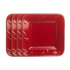 I pinned this Sorrento Square Salad Plate in Ruby from the Sorrento event at Joss & Main!