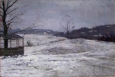 Mer om Ludvig Skramstad, Vinterlandskap