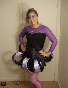 Ursula costume for the Disney Princess Marathon (I guess villains are allowed, too...?)