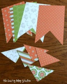 Fall Paper Banner Tutorial