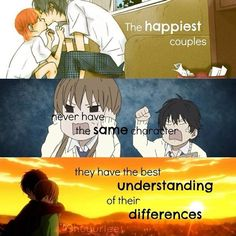 Anime: My little Monster Qoutes About Love, Love Quotes, Best Quotes, Inspiring Quotes, My Little Monster, Little Monsters, Cute Anime Pics, Anime Love, Slice Of Life Anime