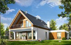 Проект дома Домино - визуализация фронта