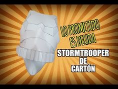 STORMTROOPER DE CARTÓN / Cardboard #pepakura - YouTube Disfraz Star Wars, Costume Armour, Youtube, Cosplay, Stars, Paper, Positive Comments, Armors, Costumes