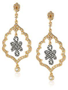 Amazon.com: Freida Rothman Alhambra Love Knot Drop Earrings: Clothing