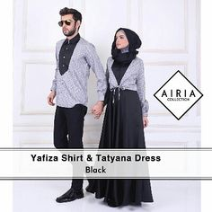 Yafiza Shirt and Tatyana Dress by Airia Collection Detail Dres