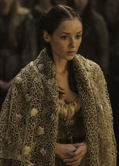 Roslin Tully, née Frey, is the daughter of Walder Frey and wife to Edmure Tully who is first seen in Season 3. She was previously the intended bride for Robb Stark. Roslin is the 19-year-old daughter of Lord Walder Frey, Lord of the Crossing. Unlike the majority of Lord Walder's brood, Roslin is quite beautiful. She was intended to marry King Robb Stark as part of an alliance between her father and him (Walder had given Robb a choice of any one of his many daughters or granddaughters, but...